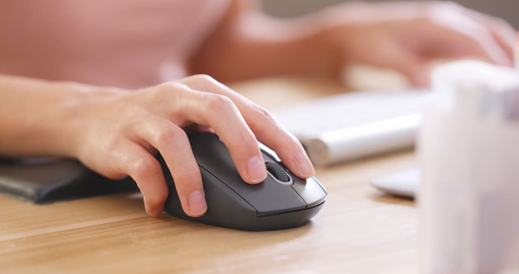 How fast can I click the mouse