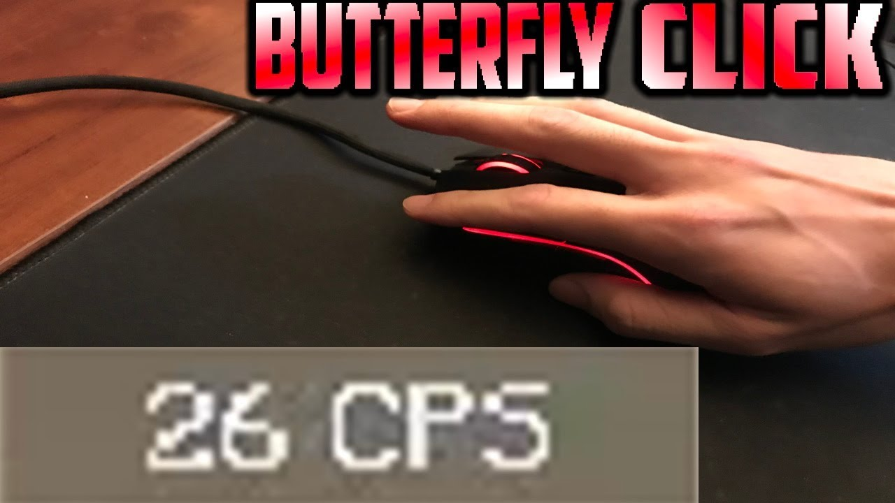 Butterfly clicking