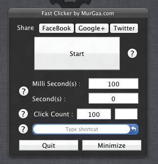 Fast Clicker By Murgaa