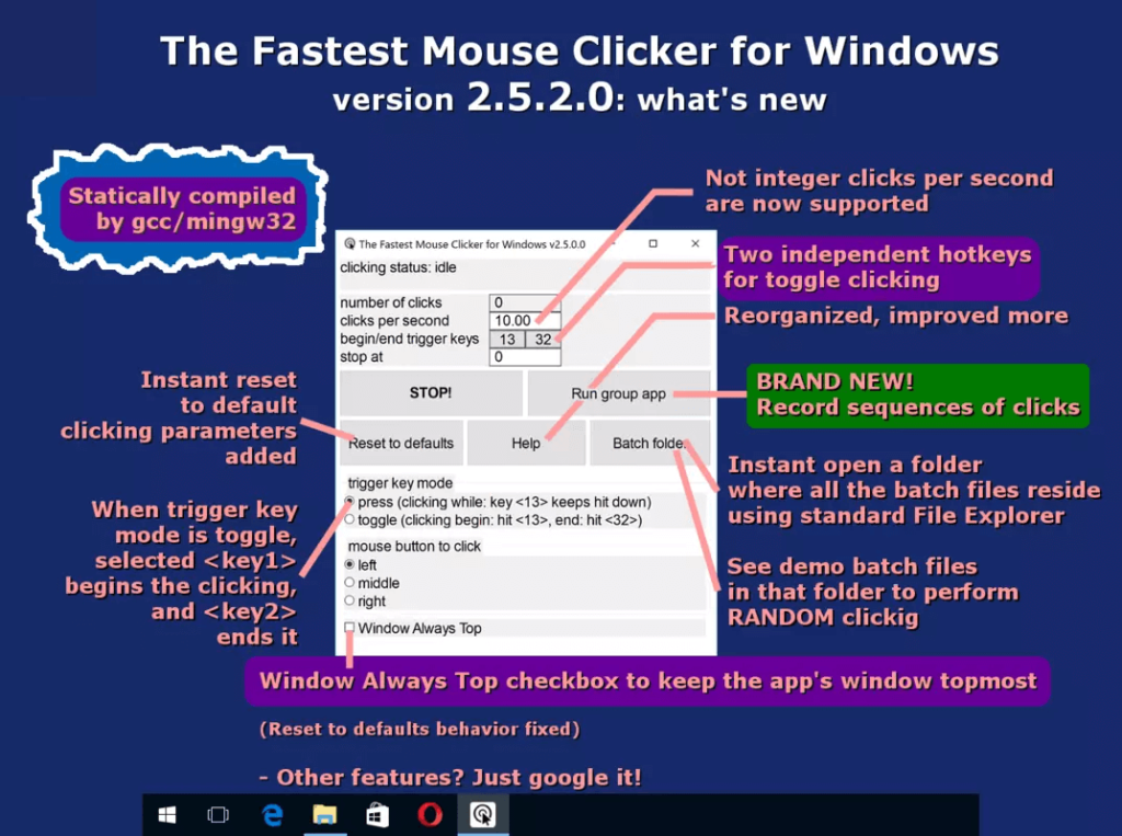 Fastest Mouse Clicker