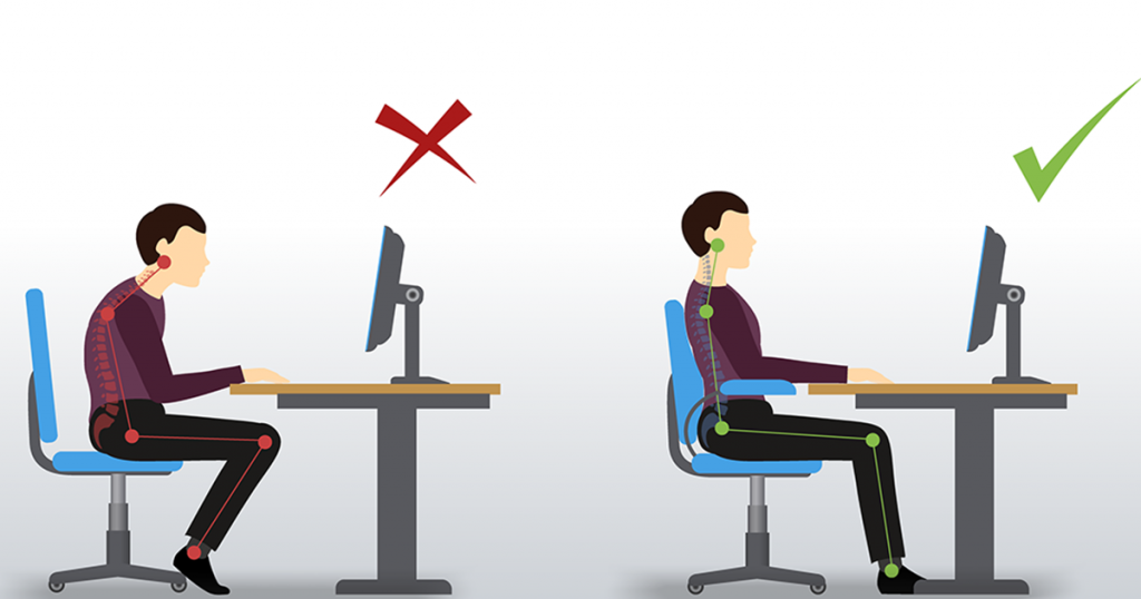 Posture to Type Fast