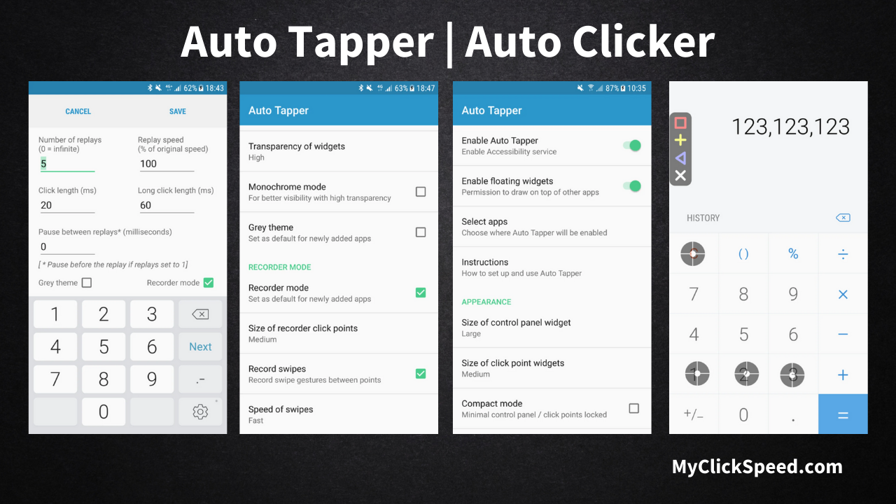 Auto Tapper   Automatic Clicker