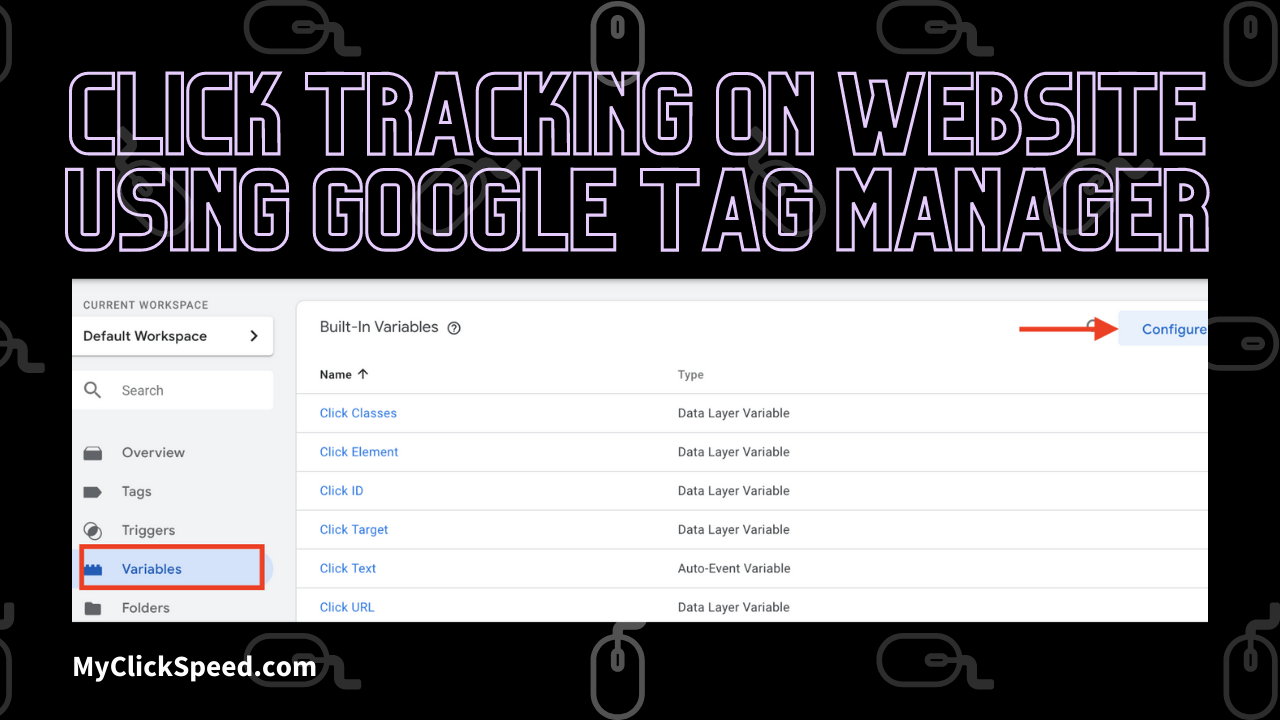 Click Tracking On Website Using Google Tag Manager