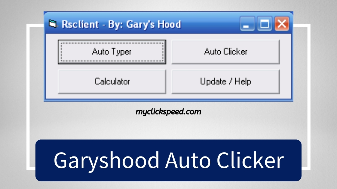 Garyshood Auto Clicker