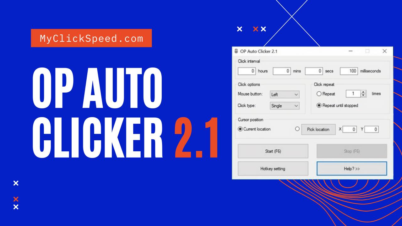 OP auto Clicker 2.1
