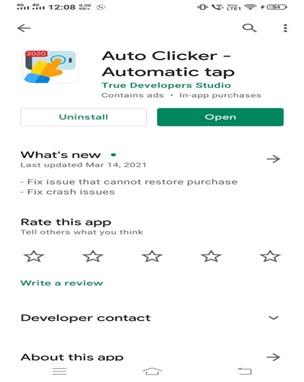 Install Android Auto Clicker