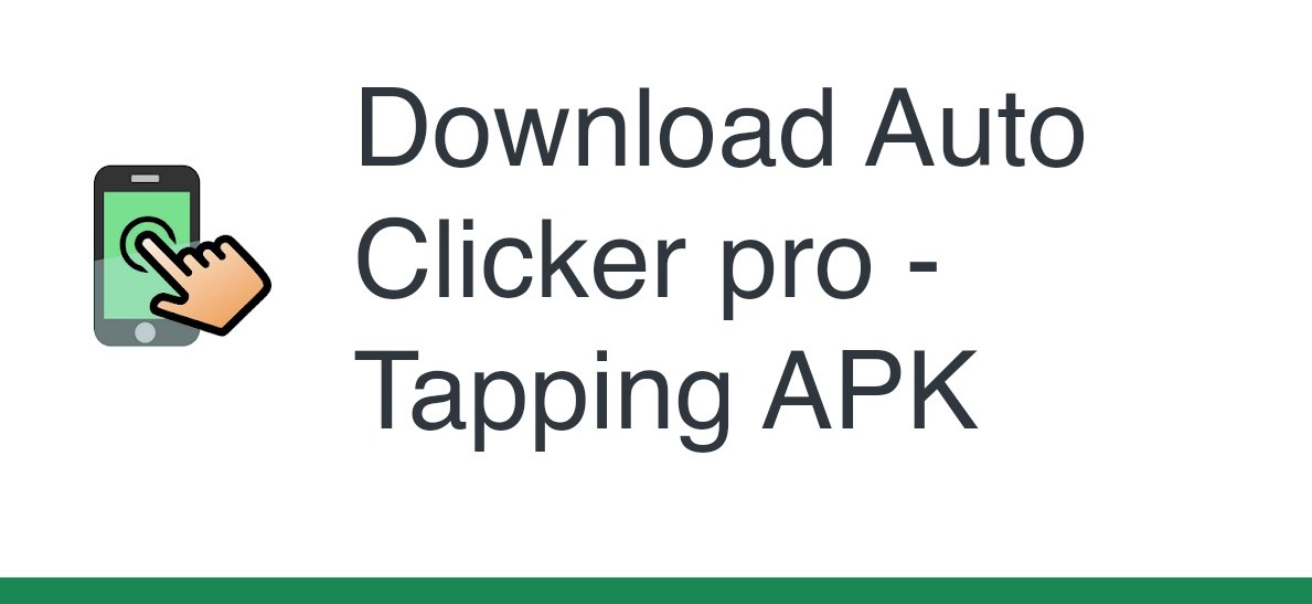 Download Auto Clicker APK Pro