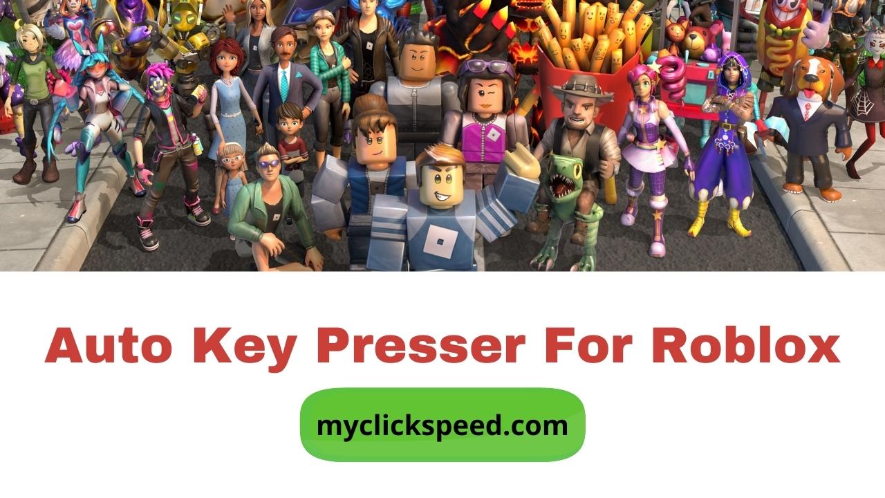 Auto Key Presser For Roblox