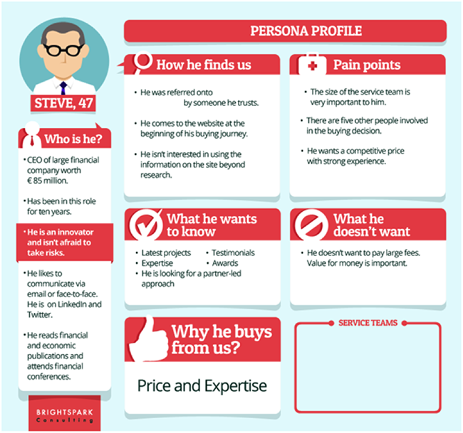 Create the Buyer's Persona