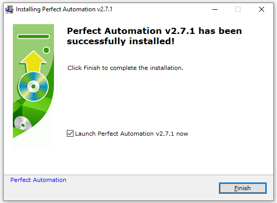 Perfect Automation Installation is Complete
